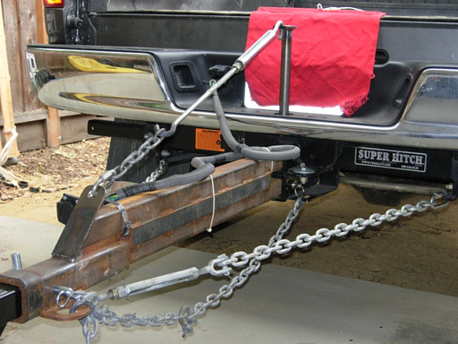Hitch extensions and hauling on the front - Expedition Portal